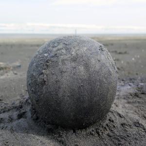 Black Sand Globe, NZ